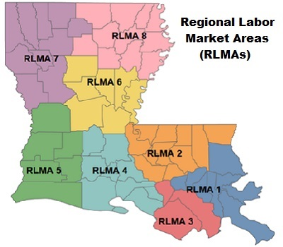 Regional Labor Market Area Map